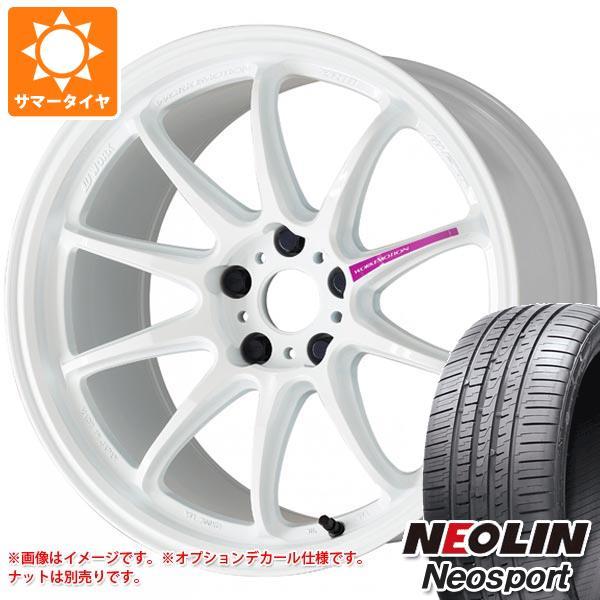 サマータイヤ 205/50R17 93W XL ネオリン ネオスポーツ ワーク エモーション ZR10 7.0-17 タイヤホイール4本セット
