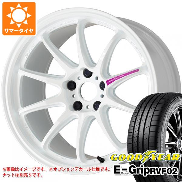 新作商品 サマータイヤ 185/65R15 88H グッドイヤー エフィシエントグリップ RVF02 ワーク エモーション ZR10 6.0-15 タイヤホイール4本セット, ステーショナリーショップたまぶん 3d310f9c