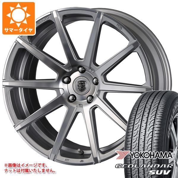 サマータイヤ 215/55R18 99V XL ヨコハマ ジオランダーSUV G055 クリムソン クラブリネア マルディーニ 8.0-18 タイヤホイール4本セット