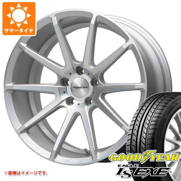 サマータイヤ 225/45R18 91W グッドイヤー イーグル LSエグゼ ハイペリオン CVX 8.0-18 タイヤホイール4本セット
