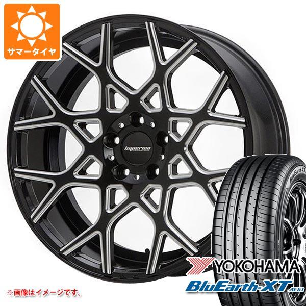 サマータイヤ 225/55R19 99V ヨコハマ ブルーアースXT AE61 2020年4月発売サイズ ハイペリオン CVZ 8.5-19 タイヤホイール4本セット