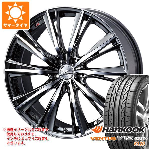 サマータイヤ 245/45R20 103Y XL ハンコック ベンタス V12evo2 K120 レオニス WX 8.5-20 タイヤホイール4本セット