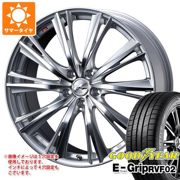 最高の品質の サマータイヤ 225 サマータイヤ/40R19 93W 7.5-19 XL グッドイヤー エフィシエントグリップ RVF02 レオニス レオニス WX 7.5-19 タイヤホイール4本セット, 京都郡:a66008a3 --- yuk.dog