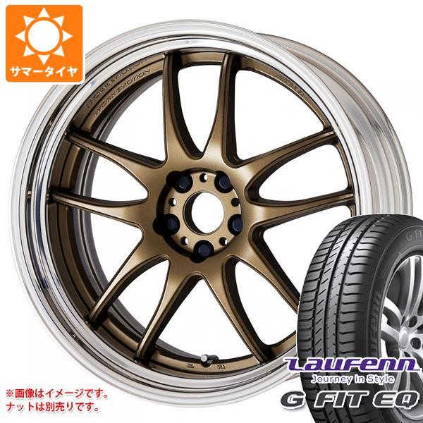サマータイヤ 225/65R17 102H ラウフェン Gフィット EQ LK41 エモーション CR 2P 7.0-17 タイヤホイール4本セット