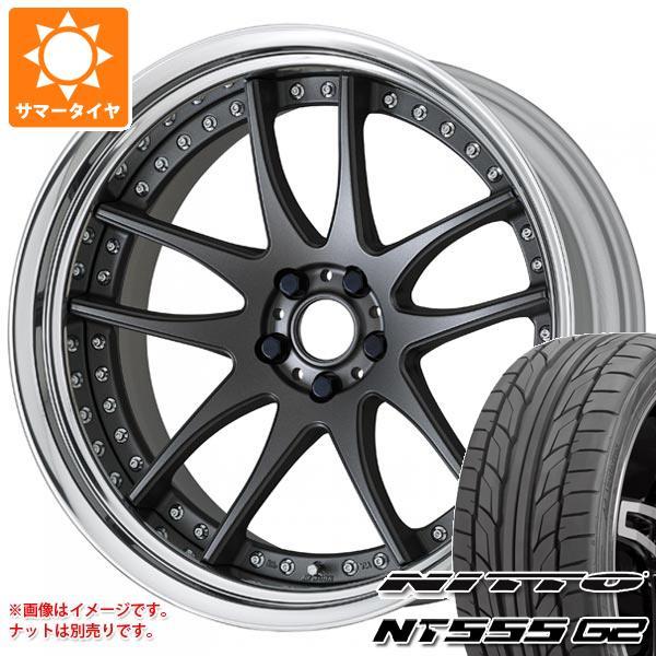 サマータイヤ 245/40R19 98Y XL ニットー NT555 G2 ワーク エモーション CR 3P 8.5-19 タイヤホイール4本セット