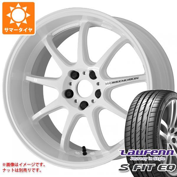サマータイヤ 225/40R18 92Y XL ラウフェン Sフィット EQ LK01 ワーク エモーション D9R 7.5-18 タイヤホイール4本セット