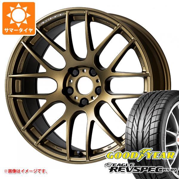 サマータイヤ 215/45R17 87W グッドイヤー イーグル レヴスペック RS-02 ワーク エモーション M8R 7.0-17 タイヤホイール4本セット