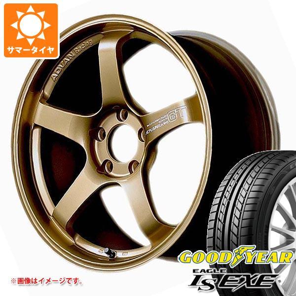 サマータイヤ 235/40R18 95W XL グッドイヤー イーグル LSエグゼ アドバンレーシング GT プレミアムバージョン 8.0-18 タイヤホイール4本セット