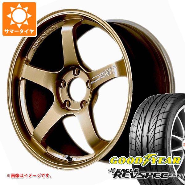 サマータイヤ 265/35R18 93W グッドイヤー イーグル レヴスペック RS-02 アドバンレーシング GT プレミアムバージョン 9.0-18 タイヤホイール4本セット