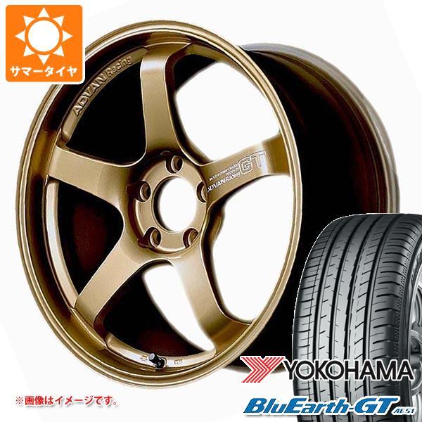 サマータイヤ 225/45R18 95W XL ヨコハマ ブルーアースGT AE51 アドバンレーシング GT プレミアムバージョン 8.0-18 タイヤホイール4本セット