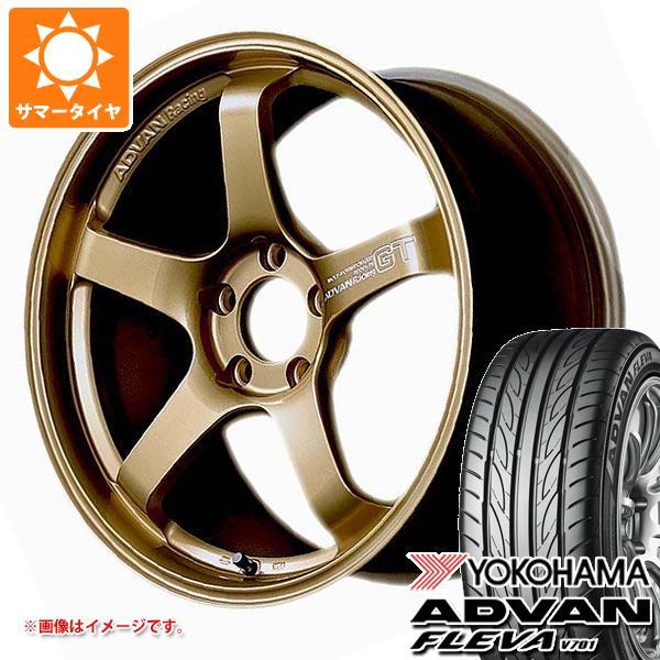 サマータイヤ 245/40R18 97W XL ヨコハマ アドバン フレバ V701 アドバンレーシング GT プレミアムバージョン 8.5-18 タイヤホイール4本セット