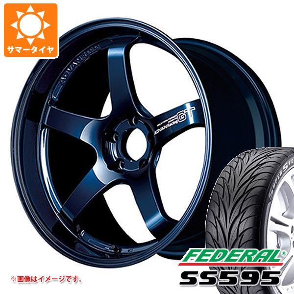 サマータイヤ 225/40R18 88W フェデラル SS595 アドバンレーシング GT プレミアムバージョン 8.0-18 タイヤホイール4本セット