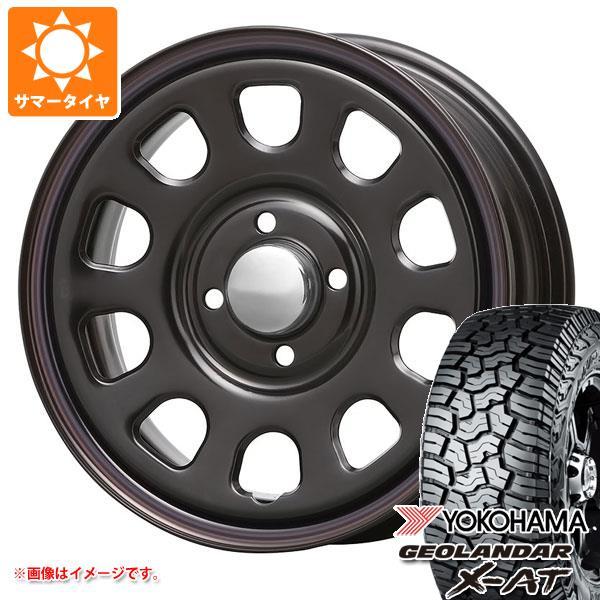 サマータイヤ 145R14 85/83Q ヨコハマ ジオランダー X-AT G016 MLJ デイトナ SS 5.0-14 タイヤホイール4本セット