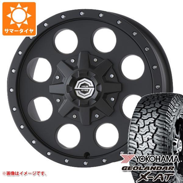 サマータイヤ 235/70R16 104/101Q ヨコハマ ジオランダー X-AT G016 ソリッドレーシング アイメタル X 6.5-16 タイヤホイール4本セット