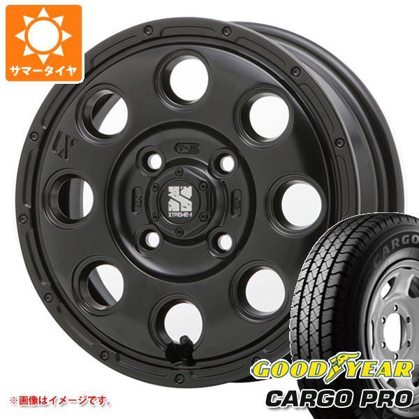 サマータイヤ 155R13 6PR グッドイヤー カーゴ プロ (155/80R13 85/84N相当) エクストリームJ KK03 軽カー専用 4.0-13 タイヤホイール4本セット