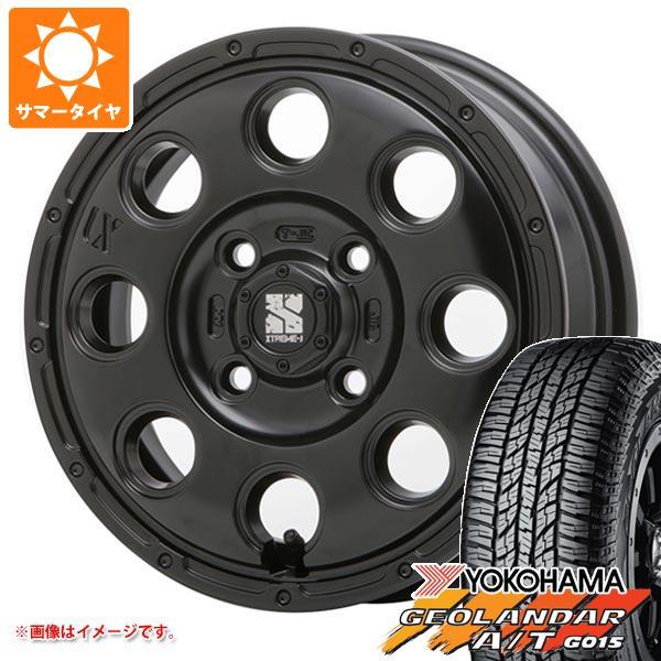 サマータイヤ 165/60R15 77H ヨコハマ ジオランダー A/T G015 ブラックレター エクストリームJ KK03 軽カー専用 4.5-15 タイヤホイール4本セット