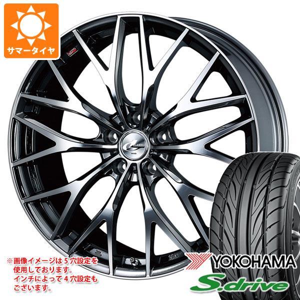 サマータイヤ 165/45R16 74V REINF ヨコハマ DNA S.ドライブ ES03N レオニス MX BMCミラーカット 5.0-16 タイヤホイール4本セット