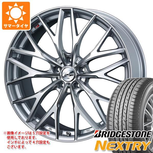 サマータイヤ 165/55R15 75V ブリヂストン ネクストリー レオニス MX 4.5-15 タイヤホイール4本セット