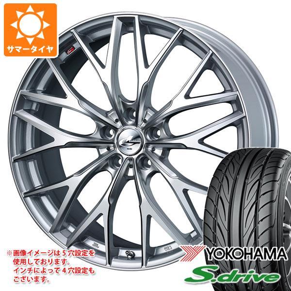 サマータイヤ 165/40R16 70V REINF ヨコハマ DNA S.ドライブ ES03N レオニス MX HS3/SC 5.0-16 タイヤホイール4本セット