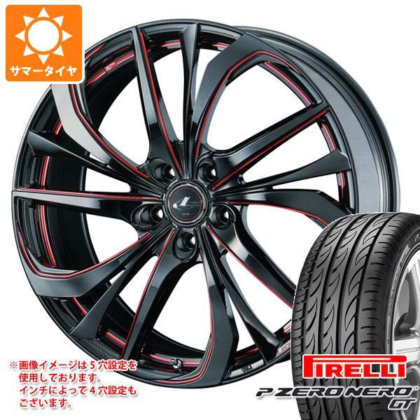 サマータイヤ 245/35R19 (93Y) XL ピレリ P ゼロ ネロ GT レオニス TE 8.0-19 タイヤホイール4本セット