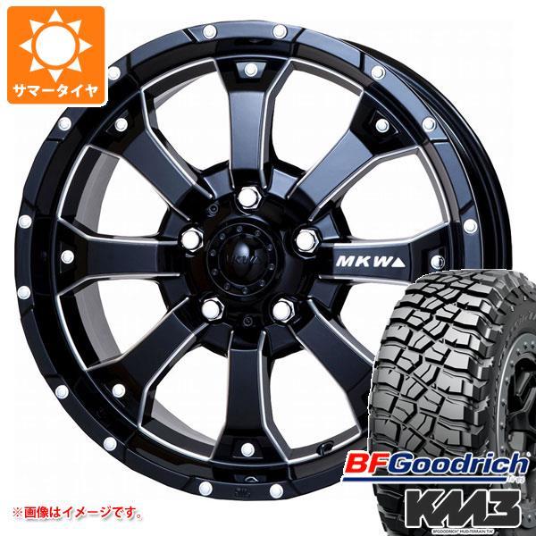 正規品 ジムニー専用 サマータイヤ BFグッドリッチ マッドテレーン T/A KM3 LT225/75R16 115/112Q MK-46 M/L+ MB タイヤホイール4本セット