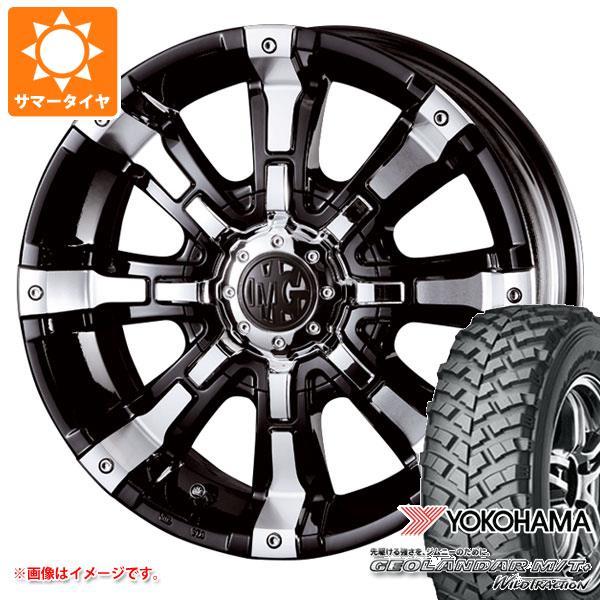 ジムニー専用 サマータイヤ ヨコハマ ジオランダー M/T+ G001J 195R16C 104/102Q クリムソン MG ビースト タイヤホイール4本セット