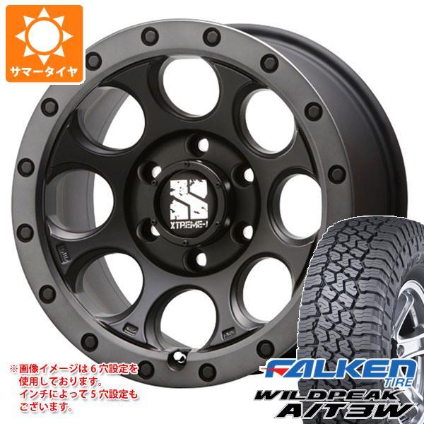 サマータイヤ 235/70R16 109T XL ファルケン ワイルドピーク A/T3W エクストリームJ XJ03 7.0-16 タイヤホイール4本セット