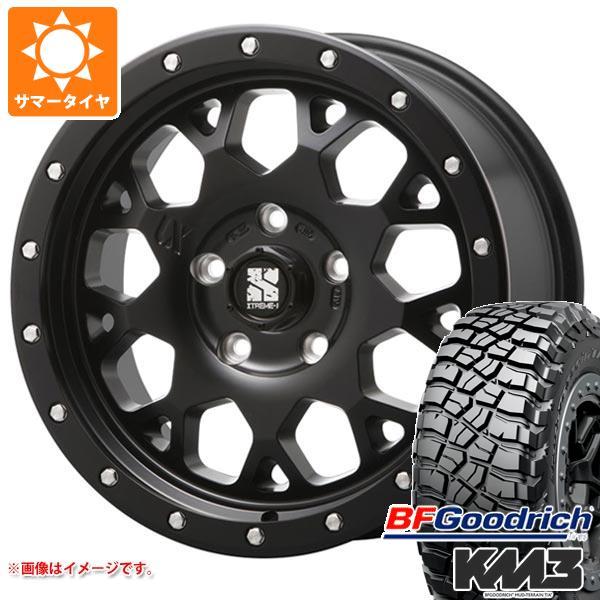 サマータイヤ 245/65R17 111/108Q BFグッドリッチ マッドテレーン T/A KM3 ブラックレター エクストリームJ XJ04 SB 7.0-17 タイヤホイール4本セット