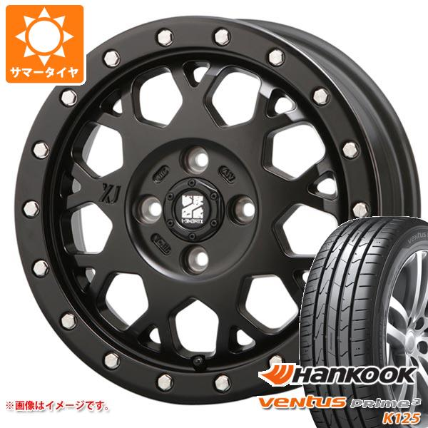サマータイヤ 165/50R15 72V ハンコック ベンタス プライム3 K125 エクストリームJ XJ04 SB 軽カー専用 4.5-15 タイヤホイール4本セット