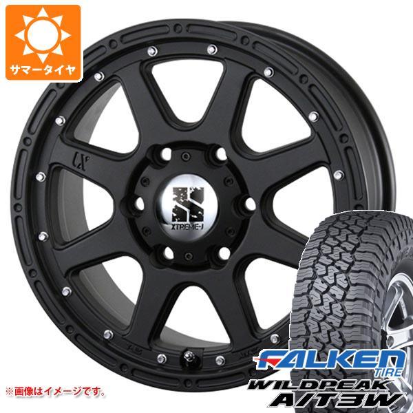 サマータイヤ 265/65R17 116S XL ファルケン ワイルドピーク A/T3W エクストリームJ 7.5-17 タイヤホイール4本セット