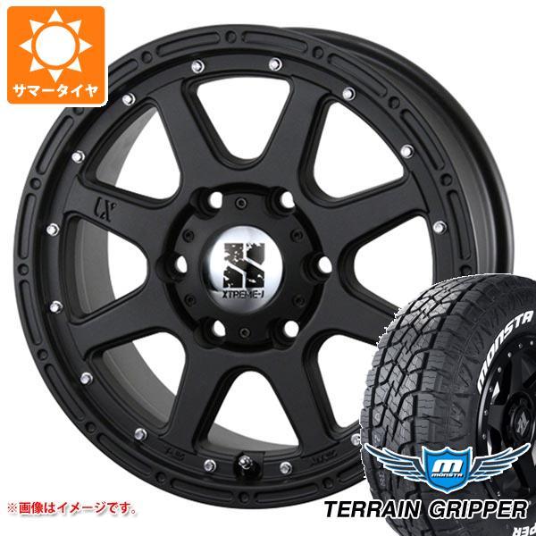 サマータイヤ 265/60R18 114T XL モンスタ テレーングリッパー ホワイトレター エクストリームJ 8.0-18 タイヤホイール4本セット