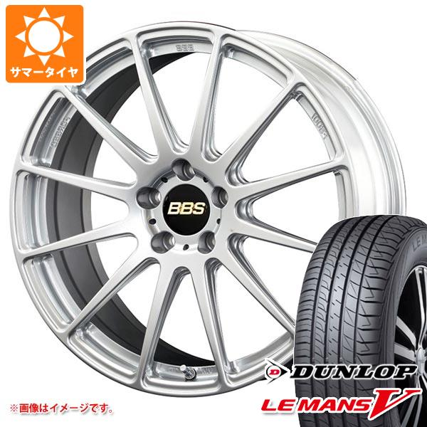 サマータイヤ 245/45R19 98W ダンロップ ルマン5 LM5 BBS FS 8.0-19 タイヤホイール4本セット