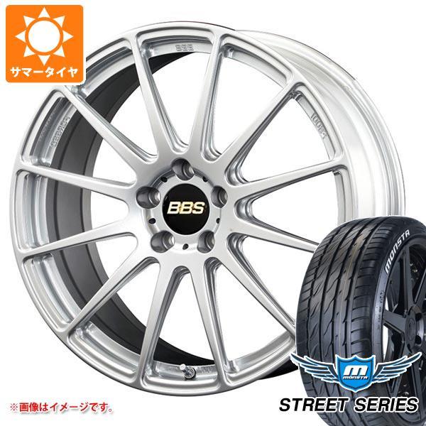 ホワイトレター FS サマータイヤ タイヤホイール4本セット 93V XL BBS ストリートシリーズ モンスタ 245/35R19 8.0-19