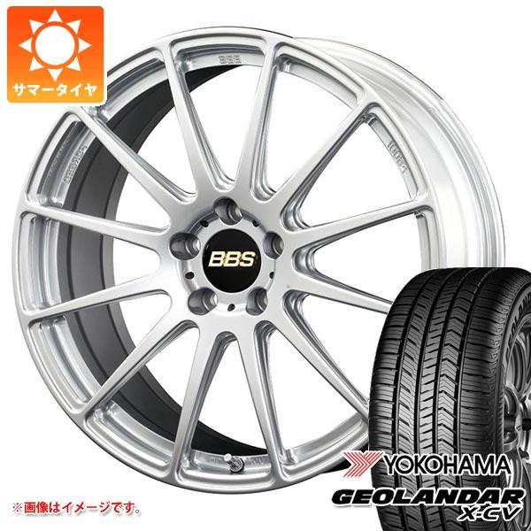 サマータイヤ 235/55R19 105W XL ヨコハマ ジオランダー X-CV G057 BBS FS 8.0-19 タイヤホイール4本セット