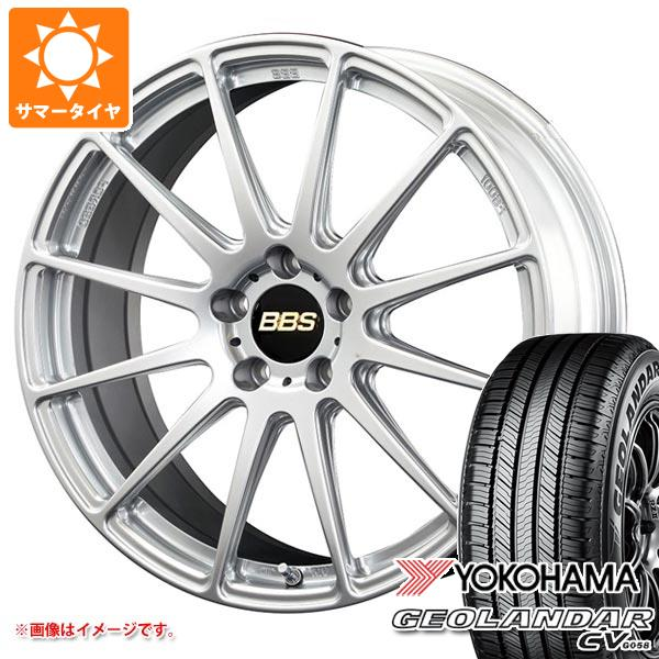 サマータイヤ 225/55R19 99V ヨコハマ ジオランダー CV BBS FS 8.0-19 タイヤホイール4本セット