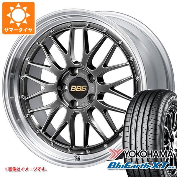 サマータイヤ 225/65R17 102H ヨコハマ ブルーアースXT AE61 BBS LM 7.5-17 タイヤホイール4本セット