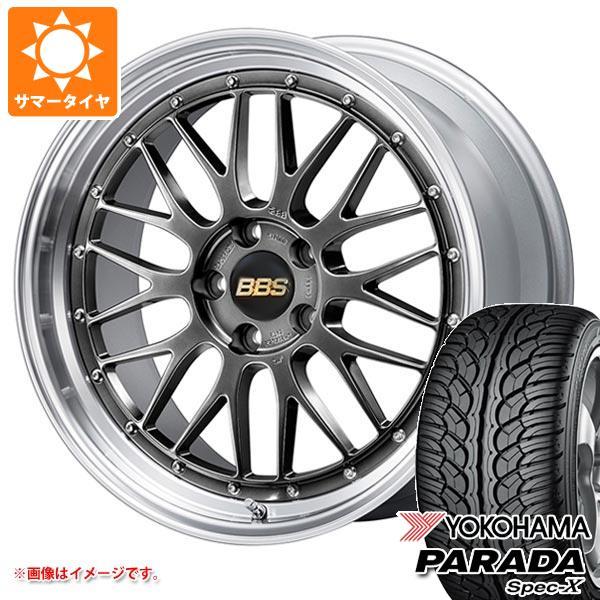 サマータイヤ 235/55R20 102V ヨコハマ パラダ スペック-X PA02 BBS LM 8.5-20 タイヤホイール4本セット