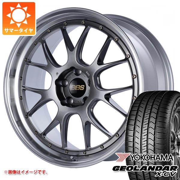 サマータイヤ 235/55R19 105W XL ヨコハマ ジオランダー X-CV G057 BBS LM-R 8.5-19 タイヤホイール4本セット