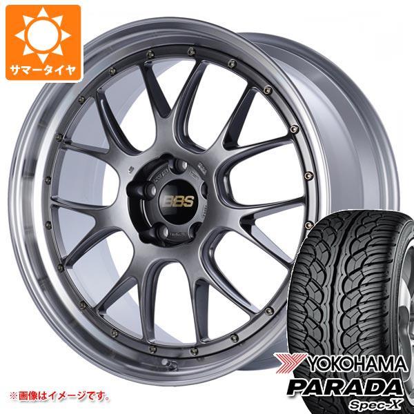サマータイヤ 235/55R20 102V ヨコハマ パラダ スペック-X PA02 BBS LM-R 8.5-20 タイヤホイール4本セット