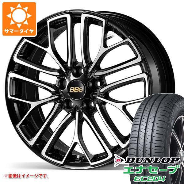 サマータイヤ 215/50R18 92V ダンロップ エナセーブ EC204 BBS RE-X 7.5-18 タイヤホイール4本セット