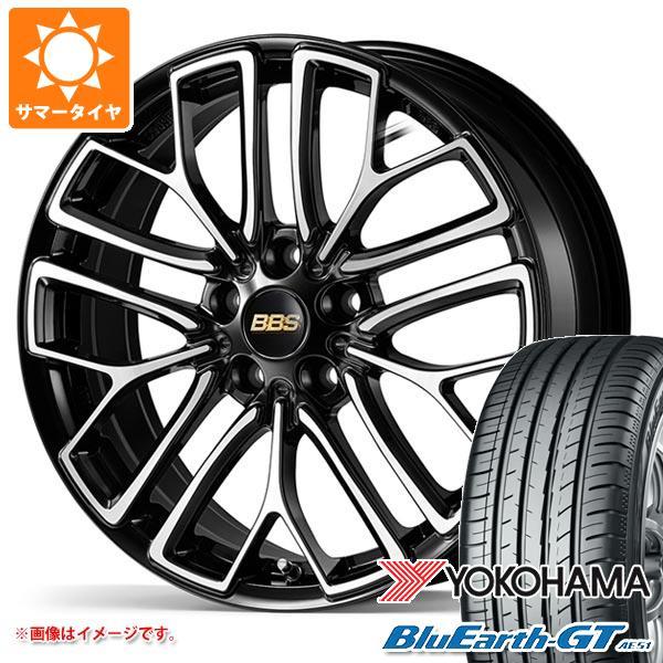 サマータイヤ 225/40R18 92W XL ヨコハマ ブルーアースGT AE51 BBS RE-X 7.5-18 タイヤホイール4本セット