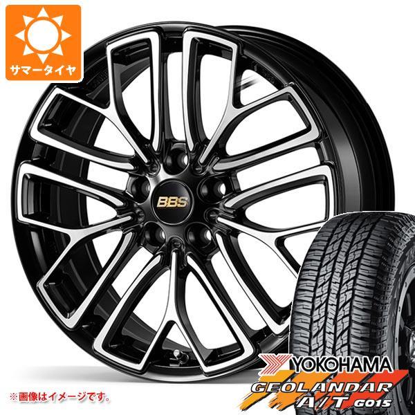サマータイヤ 235/55R18 104H XL ヨコハマ ジオランダー A/T G015 ブラックレター BBS RE-X 7.5-18 タイヤホイール4本セット