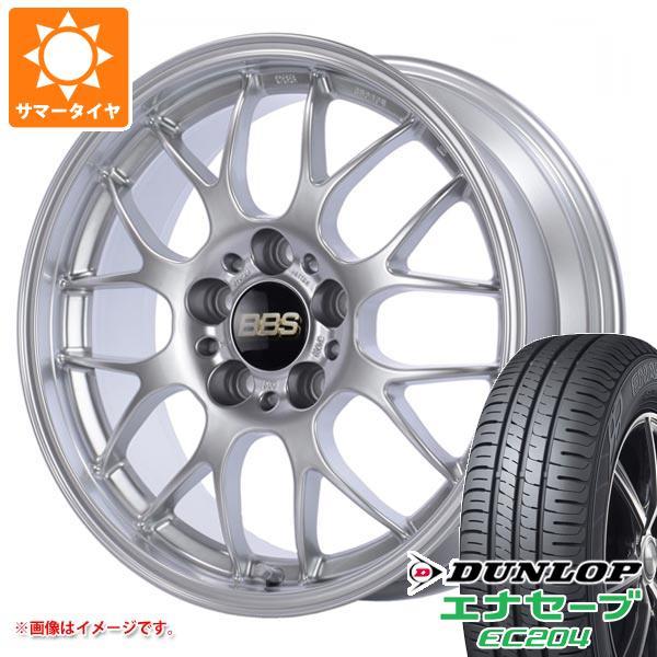 サマータイヤ 215/50R18 92V ダンロップ エナセーブ EC204 BBS RG-R 7.5-18 タイヤホイール4本セット
