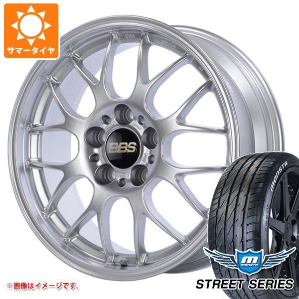 XL タイヤホイール4本セット 8.5-19 RG-R 93V ホワイトレター サマータイヤ ストリートシリーズ 245/35R19 モンスタ BBS