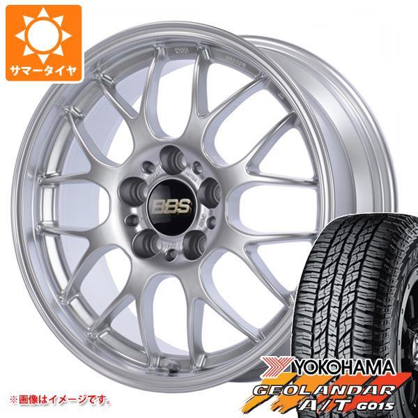 サマータイヤ 225/55R18 98H ヨコハマ ジオランダー A/T G015 ブラックレター BBS RG-R 7.5-18 タイヤホイール4本セット