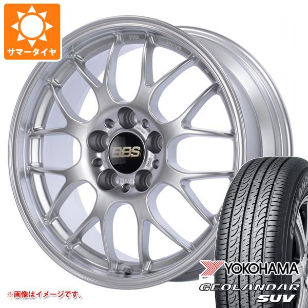 サマータイヤ 215/50R18 92V ヨコハマ ジオランダーSUV G055 BBS RG-R 7.5-18 タイヤホイール4本セット