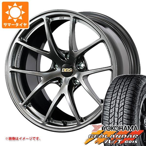 サマータイヤ 235/55R18 104H XL ヨコハマ ジオランダー A/T G015 ブラックレター BBS RI-A 7.5-18 タイヤホイール4本セット