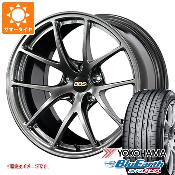 特別価格 サマータイヤ 235/55R18 100V ヨコハマ ブルーアース RV-02 BBS RI-A 7.5-18 タイヤホイール4本セット, マシケグン 48ce32d6
