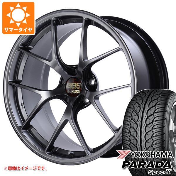 サマータイヤ 235/55R20 102V ヨコハマ パラダ スペック-X PA02 BBS RI-D 8.5-20 タイヤホイール4本セット