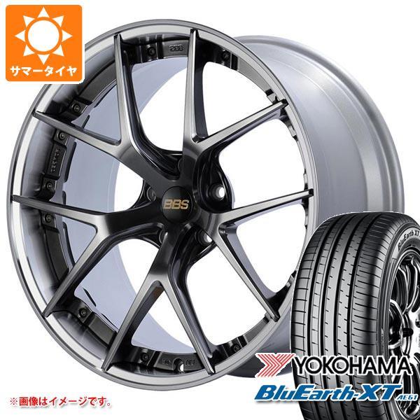 サマータイヤ 235/55R20 102V ヨコハマ ブルーアースXT AE61 BBS RI-S 8.5-20 タイヤホイール4本セット